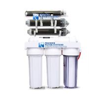Premier 7 Stage UV DI Aquarium Reef Reverse Osmosis Filter System + Pump 150 GPD
