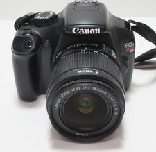 Canon EOS Rebel T3 / EOS 1100D 12.2 MP Digital SLR Camera Lens EFS 18-55mm