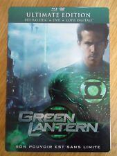 BLU-RAY * Green Lantern * + DVD Boîtier métal Comics Steelbook