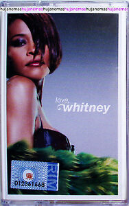 WHITNEY HOUSTON Love, Whitney 2001 MALAYSIA CASSETTE VERY RARE QUIET STORM/VOCAL