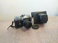 Vintage Zenti-E Film Camera Helios 44 58mm f/2 USSR