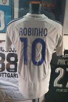 Maillot jersey shirt camiseta real madrid robinho 2006 2007 06/07 bresil camisa