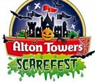 ALTON TOWERS SCAREFEST X 2 E TICKETS  Thursday 21st OCT 2021 21/10/21