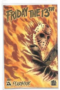 Friday The 13th  Fearbook #1 GOLD  Foil Edition Factory SEALED ltd 650 / st13