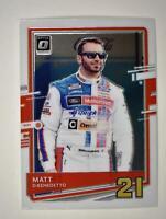 2021 Donruss Racing Optic #48 Matt DiBenedetto