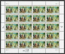 3316 MNH Sheet of 20 - 33 cent California Gold Rush - Plate #P11111 PPD-6, LL