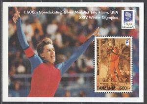 Tanzania - Fogli Yvert 228 MNH Olimpiadi