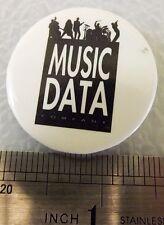 Music Data Acoustics Vintage Sound System Burning Pin!
