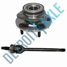 Dodge Ram 1500 DRIVER SIDE U JOINT Axle + Wheel Hub Bearing Assembly; 4X4