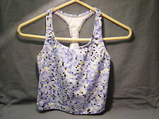 WOMENS PROSPIRIT COOL MAX SPORTS TOP, BUILT IN BRA LIGHT BUE SIZE M