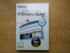 Roland V-Drums Tutor DT-1 Software Windows/Mac