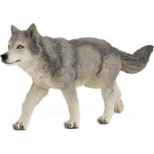 PAPO Wild Animal Kingdom Grey Wolf NEW