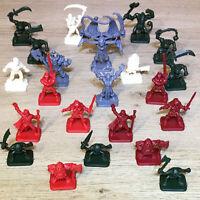 Heroquest Miniatures, Models, Multi-Listing (Gargoyle, Barbarian, Goblin Etc) #M