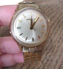 Vintage BULOVA ACCUTRON M4 Tuning Fork - 10K Gold Filled Mens Wrist Watch