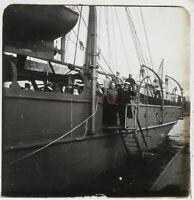 Bateau Marins Russie Foto Stereo PL59L10n11 Placca Da Lente Vintage