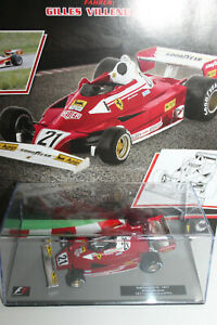 Ferrari 312T2  Nr 47 F1 Rennwagen Kollektion Panini 1:43 Formel 1