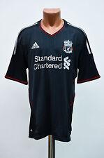 * BNWT * Liverpool England 2011/2012 Away Fußball Shirt Trikot Maglia Adidas