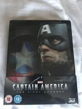 Captain America The First Avenger Lenticular Steelbook Blu Ray Dvd