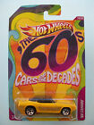 Hot Wheels Cars Of The Decades - The 60s - '69 CAMARO - #13/32 New in Pkt 2011