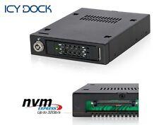 "New ICY Dock MB601VK-B 2.5"" U.2 NVMe SSD SATA SAS HDD Hard Drive Mobile Rack"