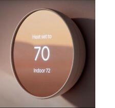 Google - Nest Smart Programmable Wifi Thermostat - Sand