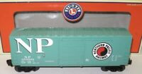 ✅LIONEL NORTHERN PACIFIC HI CUBE BOX CAR 6-36211! FOR O GAUGE TRAIN SET HIGH