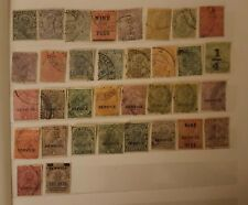 Nice collection of 34 fine diff.Indian K G V used stamps British India 1911-35