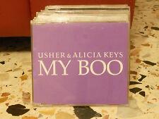 USHER & ALICIA KEYS - MY BOO main + instrumental - cd slim case PROMOZIONALE2004