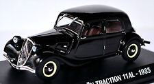 Citroen Traction 11 AL 1935 noir noir 1:43 Ixo