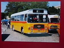 PHOTO  MALTA BUS  REG EBY 523 EX GLJ 489N AT VALLETTA