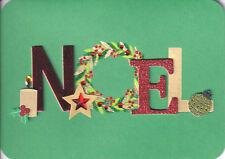 PAPYRUS CHRISTMAS CARD NIP MSRP $7.95 NOEL CARD (H4)