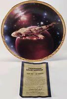 1995 Hamilton Star Trek Voyagers Cardassian Galor Warship Limited Edition Plate