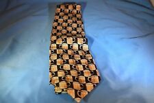 Museum Artifacts Beer Mug Blue 100% Silk Neck Tie Classic