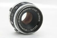 [ Exc+++++ ]  Olympus F.Zuiko Auto-S 38mm f/1.8 MF Lens for PEN F FT from  Japan