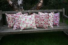Vintage/Retro Floral 100% Cotton Decorative Cushions