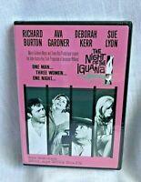 The Night of the Iguana DVD Richard Burton Ava Gardner Deborah Kerr New Sealed