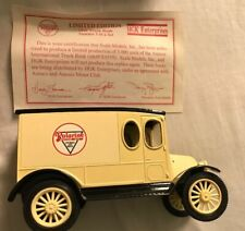 1920 International Truck Bank Polarine Motor Oil With Box And Paper