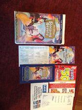 Disney Sleeping Beauty limited edition fully restored VHS & original booklet