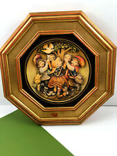 """Anri Vintage Wood Wall Hanging Placque Spring Dance Picture Ferrandiz Italy 13"""""""