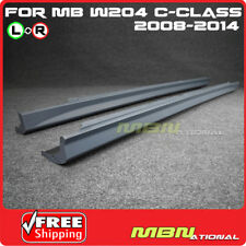 2008-2014 Mercedes W204 C-Class Sedan C63 AMG Style Side Skirt Rocker Panels