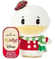 Hallmark: Holiday Donald - Itty Bittys Plush - Mickey & Friends Collector