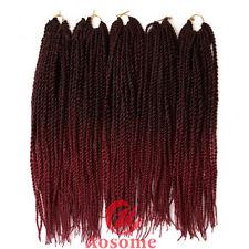 Long hair extensions chrochet braid ebay 22 kanekalon micro senegalese twist crochet braids hair extensions 27 strands pmusecretfo Choice Image