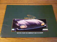 Rare JAGUAR XJS EXPORT Brochure jm