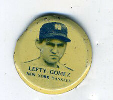 1930s MLB Button Lefty Gomez of the New York Yankees MLB