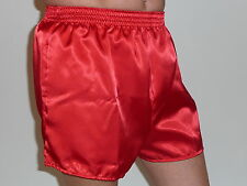 Red Satin Boxers in X/Large