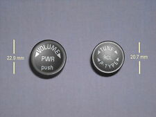 2) BRAND NEW GM AC DELCO VOLUME & TUNE KNOBS BUTTONS FOR 6CD TRUCK & SUV RADIOS