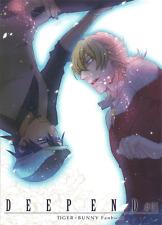 Tiger and & Bunny doujinshi Kotetsu (Wild Tiger) x Barnaby (Bunny) Deep End #01