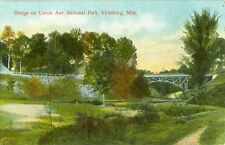 Vicksburg, MS. The Bridge crossing Union Avenue in the National Park