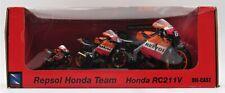 NewRay Die Cast Set Of 3 Repsol Motorcycle RC211V Nicky Hayden 1:18/1:12/1:32