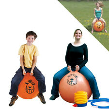 LARGE EXERCISE RETRO SPACE HOPPER PLAY BALL TOY KIDS ADULT GAME 60CM / 80CM